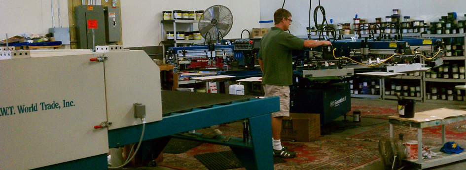 Screen Printing Equipment Repair press